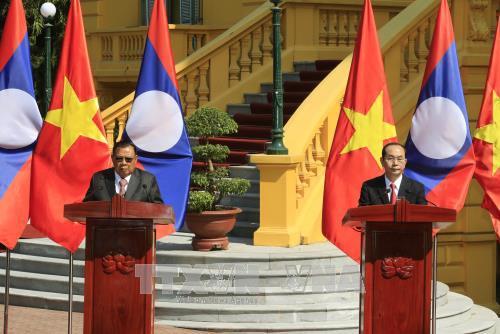 Cloture de l'Annee de solidarite et d'amitie Vietnam - Laos, Laos - Vietnam 2017 hinh anh 1