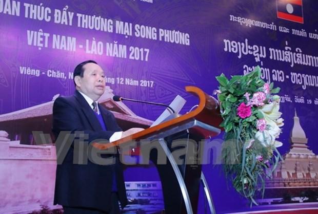 Forum de promotion des echanges commerciaux Vietnam-Laos 2017 hinh anh 3