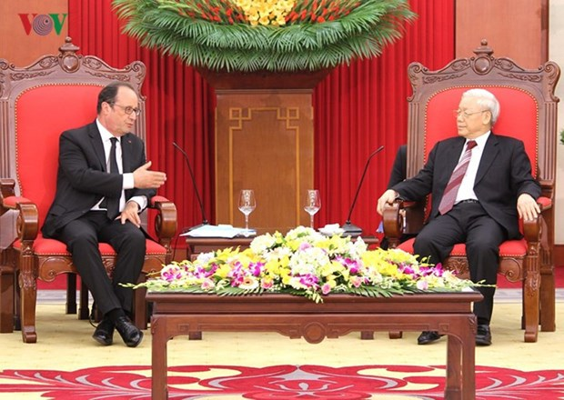 L'annee 2018 sera une annee marquante dans les relations Vietnam-France hinh anh 2