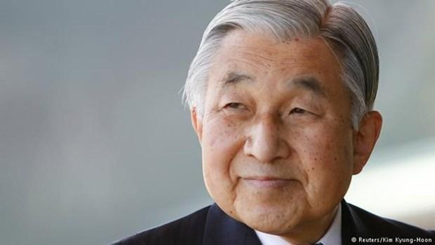 Felicitations a l'occasion du 84e anniversaire de l'empereur du Japon hinh anh 1