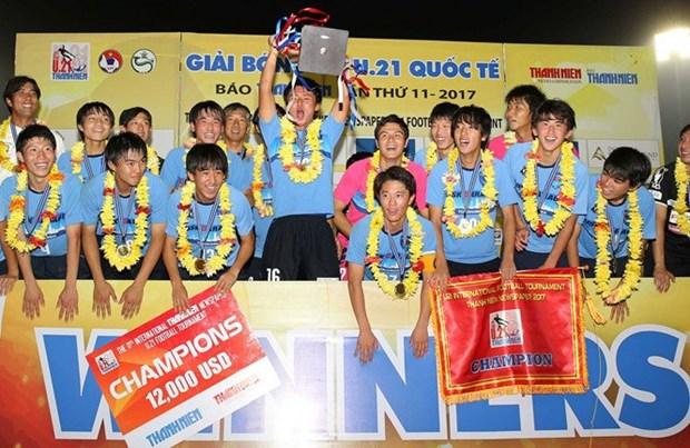 Football : U21 Yokohama remporte le tournoi U21 du journal Thanh Nien 2017 hinh anh 1