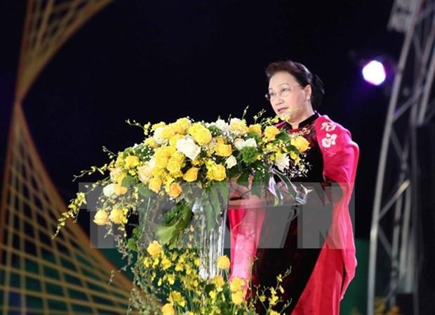 Le 7e Festival des fleurs de Da Lat mise sur une affiche populaire hinh anh 1