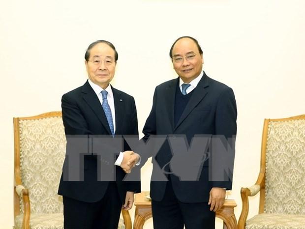 Le Premier ministre recoit le president du groupe sud-coreen Panko hinh anh 1