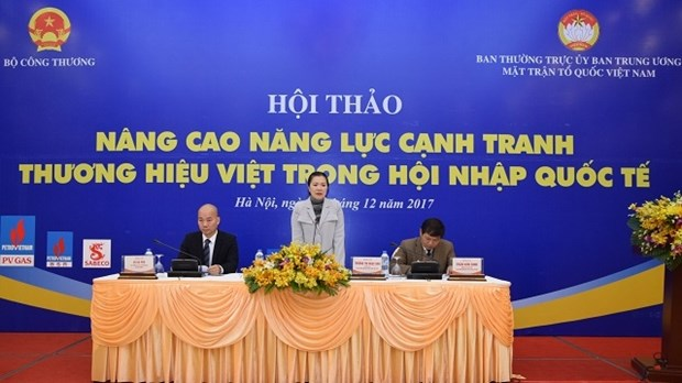 Amelioration de la competitivite des marques vietnamiennes pour l'integration internationale hinh anh 1