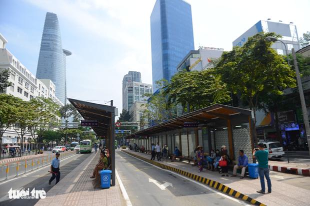 Ho Chi Minh-Ville : Mis en service d'une station de bus moderne hinh anh 1