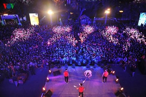 Hanoi: une foule d'activites pour saluer le Nouvel An 2018 hinh anh 1