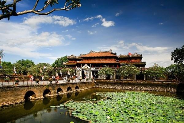 La Cite royale de Hue a accueilli plus de 3 millions de visiteurs en 2017 hinh anh 1