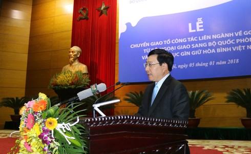 Le Departement de maintien de la paix du Vietnam voit le jour hinh anh 1