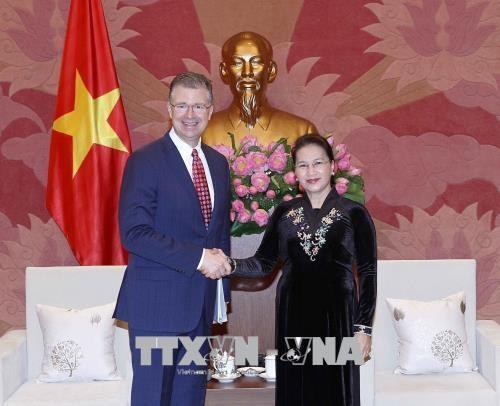 Le Vietnam attachait de l'importance a ses relations avec les Etats-Unis hinh anh 1