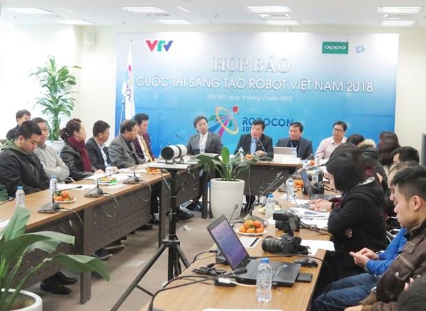 La finale du concours ABU Robocon 2018 sera organisee au Vietnam hinh anh 1