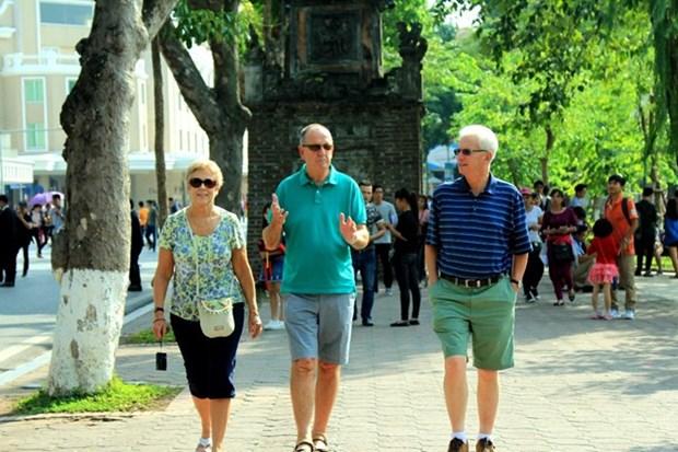 Hanoi table sur 5,5 millions de touristes etrangers en 2018 hinh anh 1