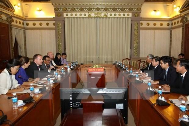 Ho Chi Minh-Ville renforce la cooperation avec EuroCham hinh anh 1
