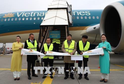 Vietnam Airlines exploite l'Airbus A350 sur les lignes a la destination de l'Allemagne hinh anh 1