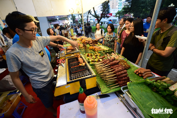 Ouverture du festival culinaire Taste of the World a Ho Chi Minh-Ville hinh anh 1