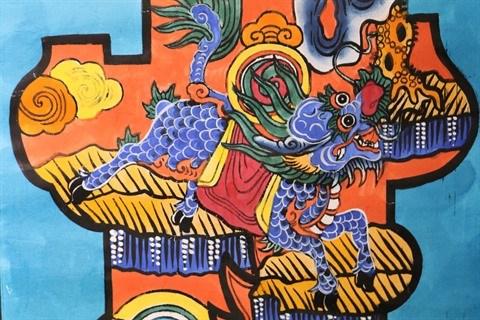 S-River presente son exposition sur les estampes populaires de Hang Trong hinh anh 2