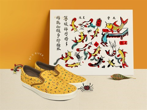 S-River presente son exposition sur les estampes populaires de Hang Trong hinh anh 3