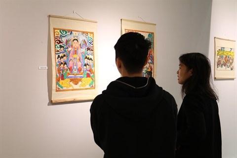 S-River presente son exposition sur les estampes populaires de Hang Trong hinh anh 4