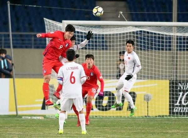 Championnat d'Asie U23 : le Vietnam a bien resiste face a la R. de Coree hinh anh 1