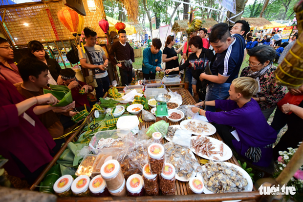 Ouverture du festival culinaire Taste of the World a Ho Chi Minh-Ville hinh anh 2