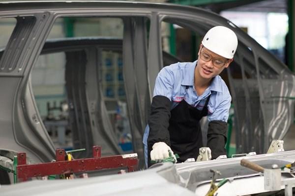 Toyota Vietnam: exportation pour 64 millions de dollars de pieces detachees automobiles hinh anh 1