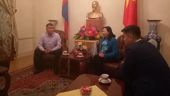 Le Gobi du Sud souhaite renforcer sa cooperation avec les localites vietnamiennes hinh anh 1