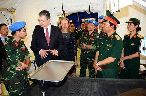 L'hopital de campagne de niveau 2 du Vietnam partira au Soudan du Sud au debut 2018 hinh anh 1