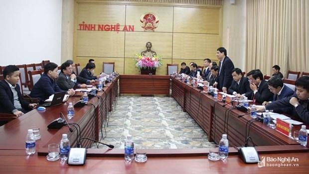 Le groupe Centerlink Holdings investit pour construire un parc eolien a Nghe An hinh anh 1