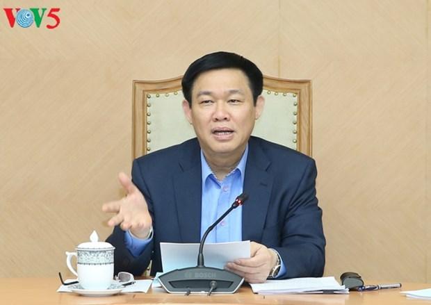Reunion sur la creation du comite de gestion des fonds d'Etat hinh anh 1