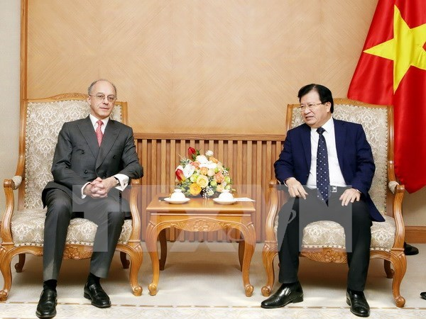 Le Vietnam appelle a plus d'investissements britanniques hinh anh 1