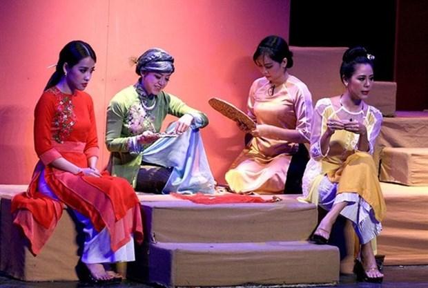Theatre : la troupe Monde de la jeunesse presente de nouvelles pieces hinh anh 1