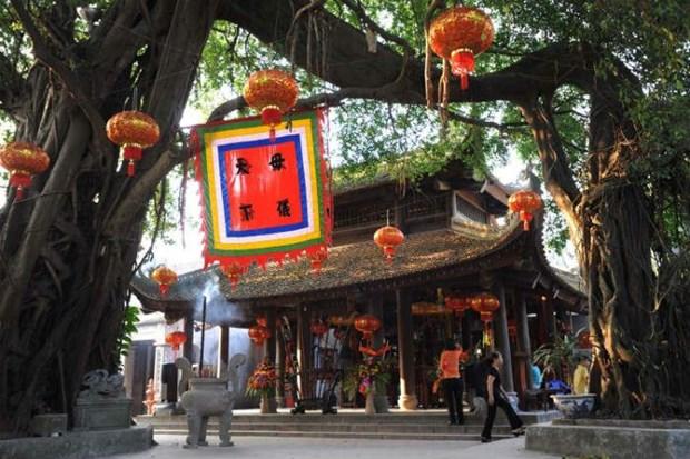 Le temple Mau, un lieu sacre a Pho Hien hinh anh 2