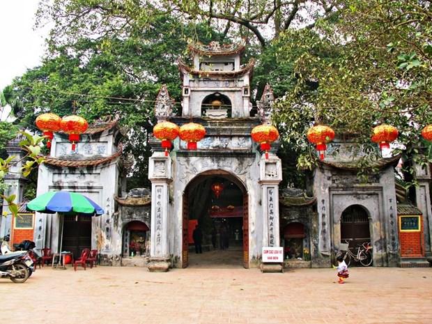 Le temple Mau, un lieu sacre a Pho Hien hinh anh 1