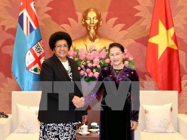 Le Vietnam et la Republique des Fidji renforcent leur cooperation legislative hinh anh 1