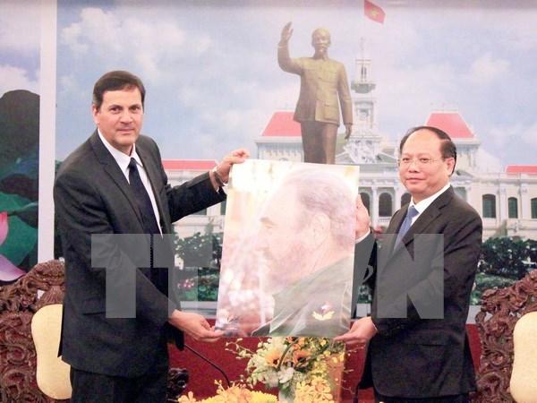 Ho Chi Minh-Ville et Cuba renforcent leur cooperation au developpement hinh anh 1