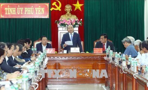 Le Premier ministre Nguyen Xuan Phuc a Binh Dinh et Phu Yen hinh anh 2