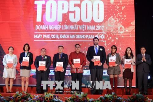 Publication de la liste des 500 entreprises les plus performantes en 2017 hinh anh 1