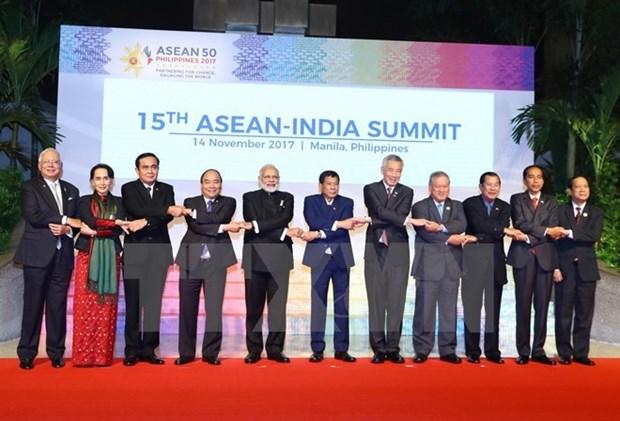 Le Vietnam manifeste son role actif en tant que coordinateur des relations ASEAN-Inde hinh anh 1