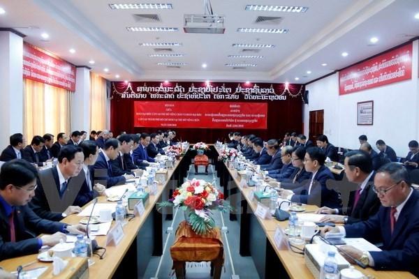Ho Chi Minh-Ville et Vientiane (Laos) renforcent leur cooperation hinh anh 1