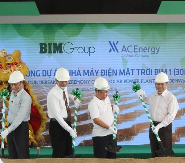 Mise en chantier de la premiere centrale photovoltaique a Ninh Thuan hinh anh 1