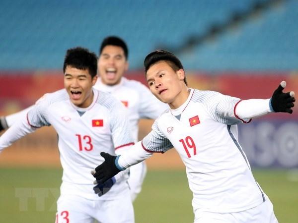 Les medias internationaux dithyrambiques apres la victoire du Onze vietnamien U23 hinh anh 2