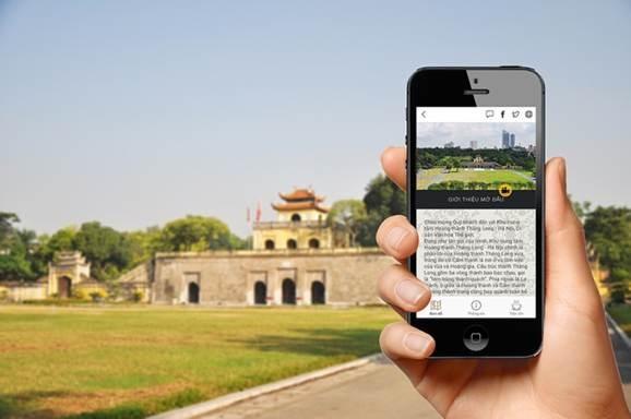 Une application mobile d'aide a la visite de la citadelle royale de Thang Long-Hanoi hinh anh 1