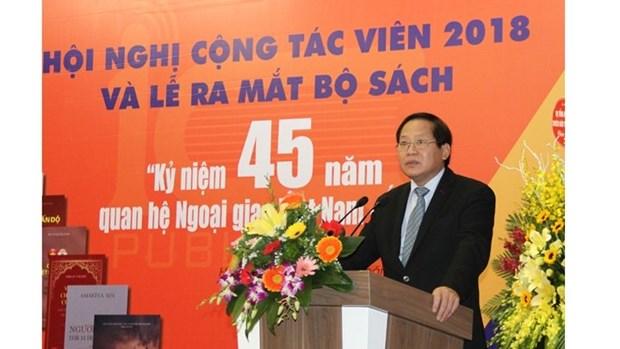 Des livres pour maquer les 45 ans des relations diplomatiques Vietnam-Inde hinh anh 1
