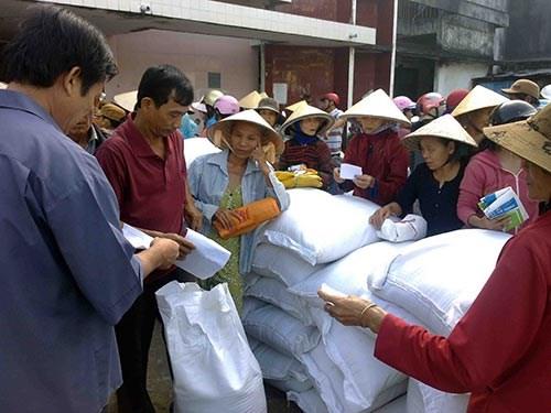 Tet du Chien : le gouvernement remet plus de 2.800 tonnes de riz a 4 provinces hinh anh 1