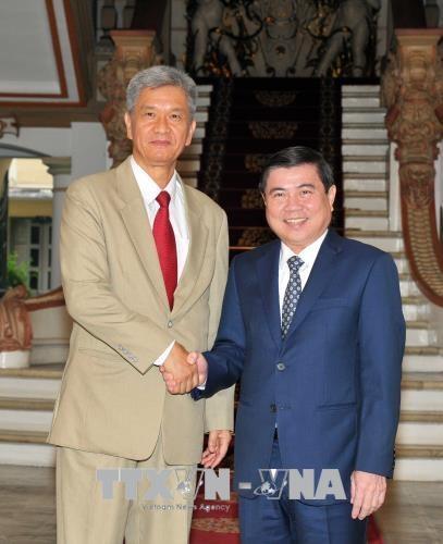Ho Chi Minh-Ville intensifie sa cooperation avec des localites laotiennes hinh anh 1