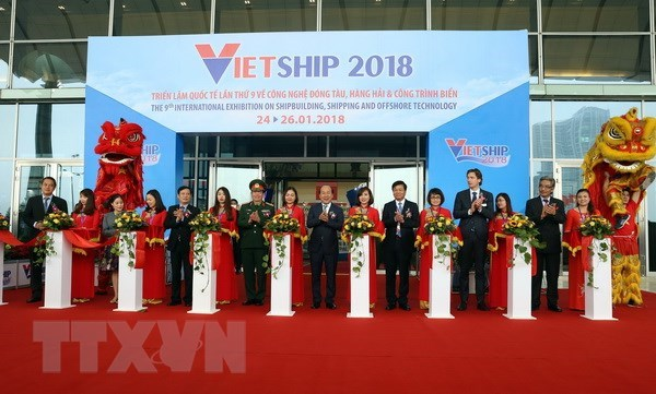 L'exposition Vietship 2018 attire de nombreuses entreprises internationales hinh anh 1