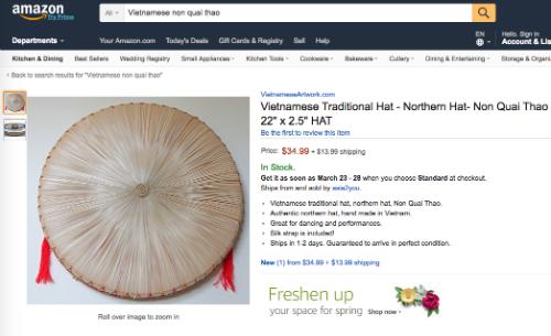 Des produits vietnamiens qui se vendent tres chers sur les sites d'e-commerce hinh anh 3