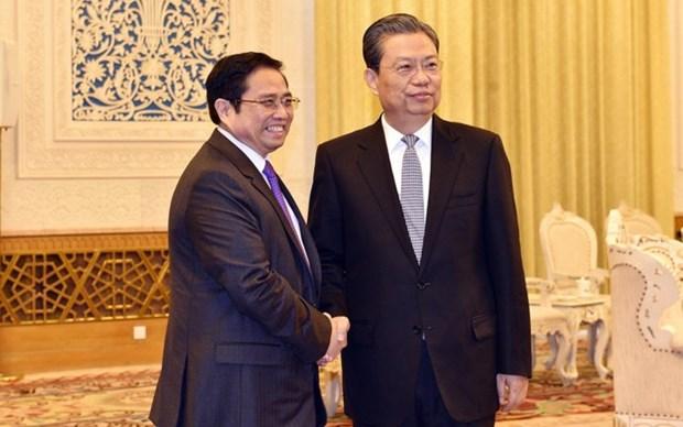 Parti: la Chine veut resserrer les liens avec le Vietnam hinh anh 1