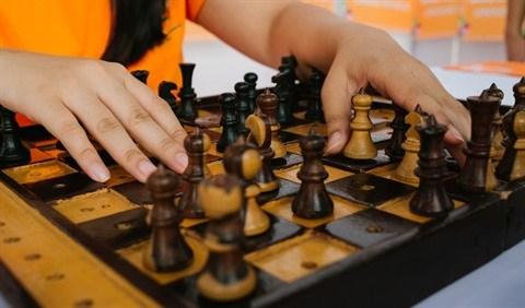 Une malvoyante brille au championnat d'echecs d'Asie du Sud-Est hinh anh 2