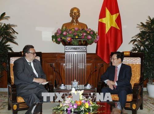 Le Vietnam et la Finlande dynamisent leurs relations dans divers domaines hinh anh 1