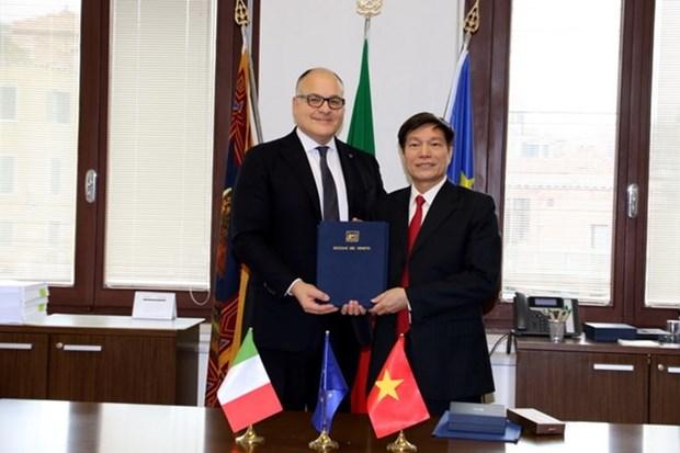 Ba Ria-Vung Tau etablit des relations de cooperation avec la Venetie hinh anh 1